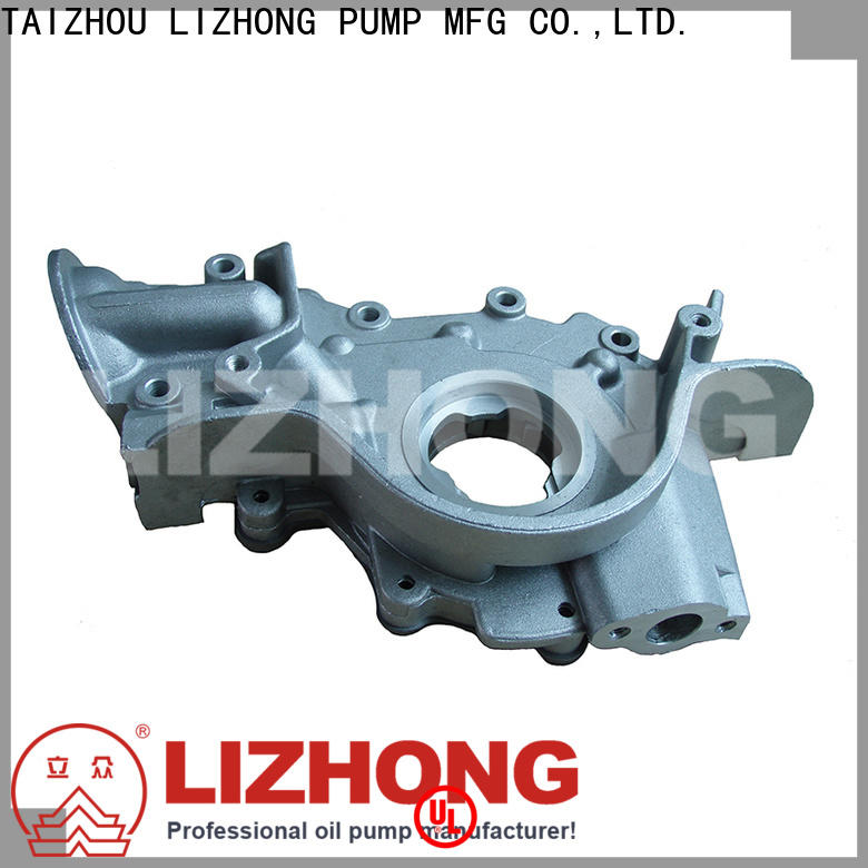 LIZHONG gear type oil pump supplier for vehicle