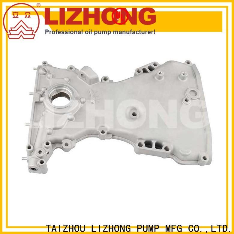LIZHONG gear type oil pump supplier for car