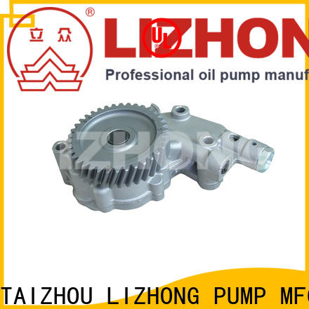 LIZHONG long lasting oil pump manufacturers supplier for off-road vehicle
