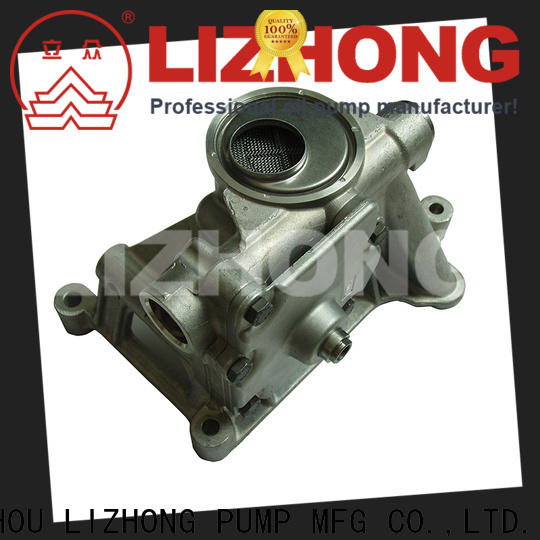 LIZHONG long lasting oil pumps supplier for car