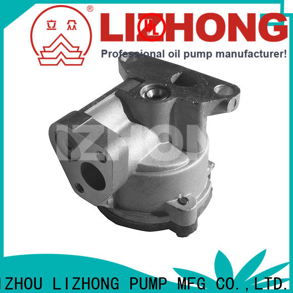 LIZHONG professional oil pump supplier for trunk
