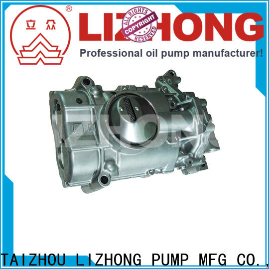 LIZHONG engine oil pump types wholesale for vehicle