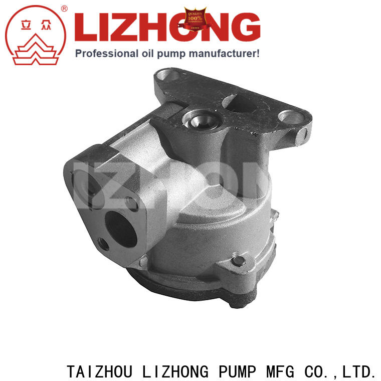 LIZHONG long lasting gear type oil pump at discount for car