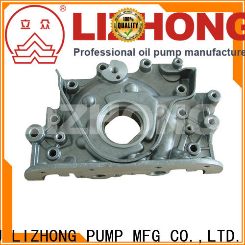 LIZHONG durable oil pump types at discount for vehicle