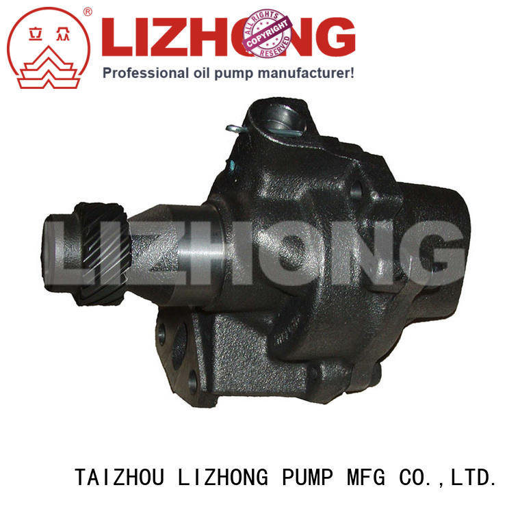 LIZHONG long lasting gear type oil pump supplier for off-road vehicle