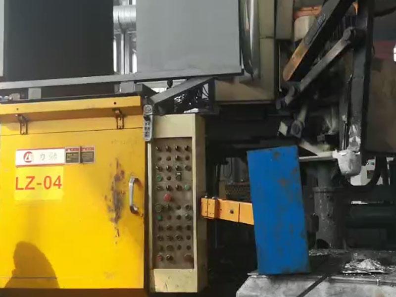 Die-casting  workblank of vehicle oil pump