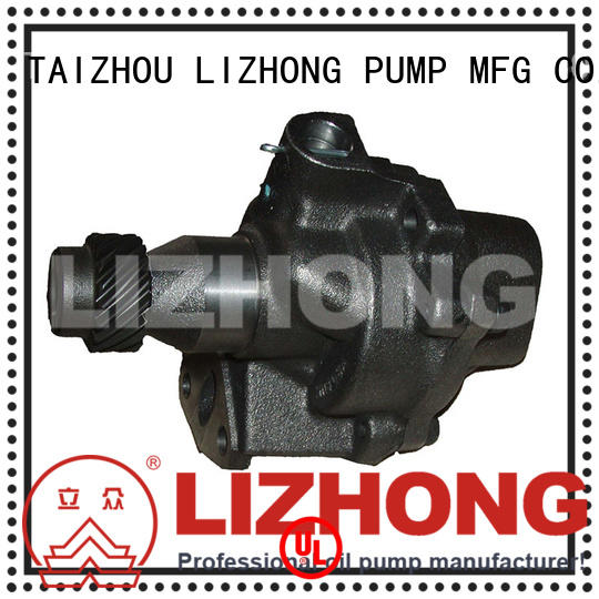 LIZHONG engine oil pump price supplier for trunk
