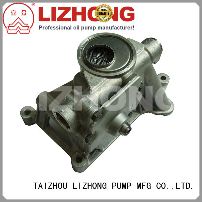 LIZHONG durable oil pump company supplier for vehicle