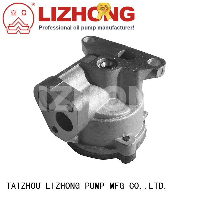 LIZHONG good quality oil pump company supplier for off-road vehicle