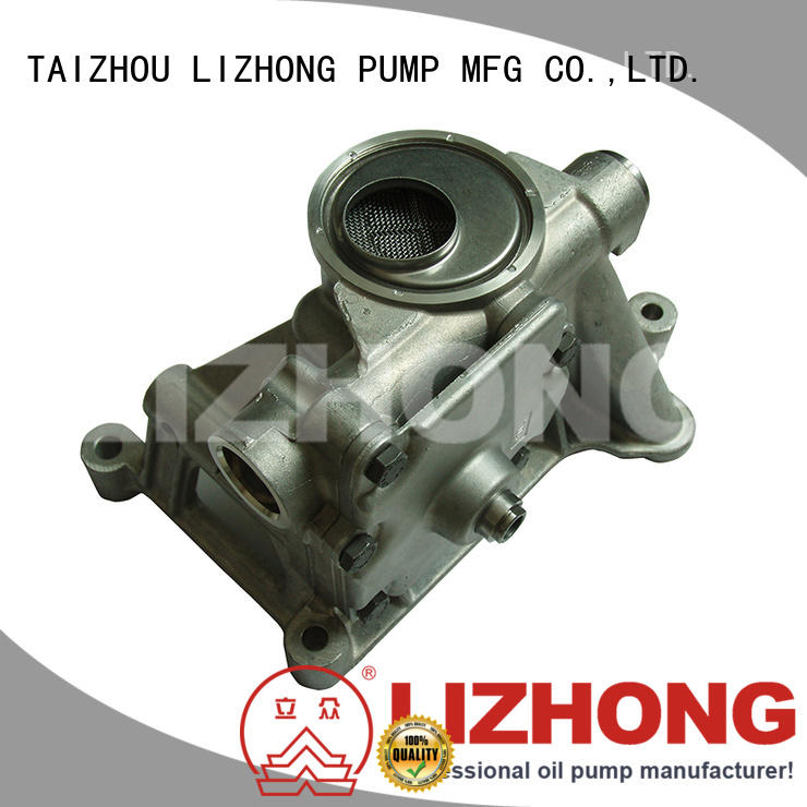 LIZHONG durable engine oil pump price supplier for vehicle