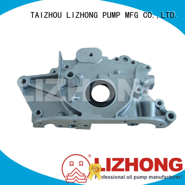 LIZHONG long lasting oil pump company supplier for vehicle