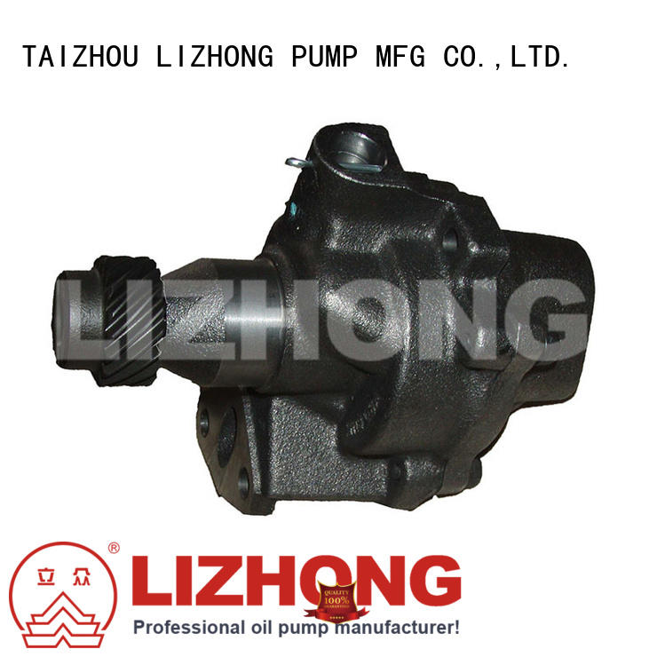 LIZHONG professional oil pumps for sale supplier for off-road vehicle