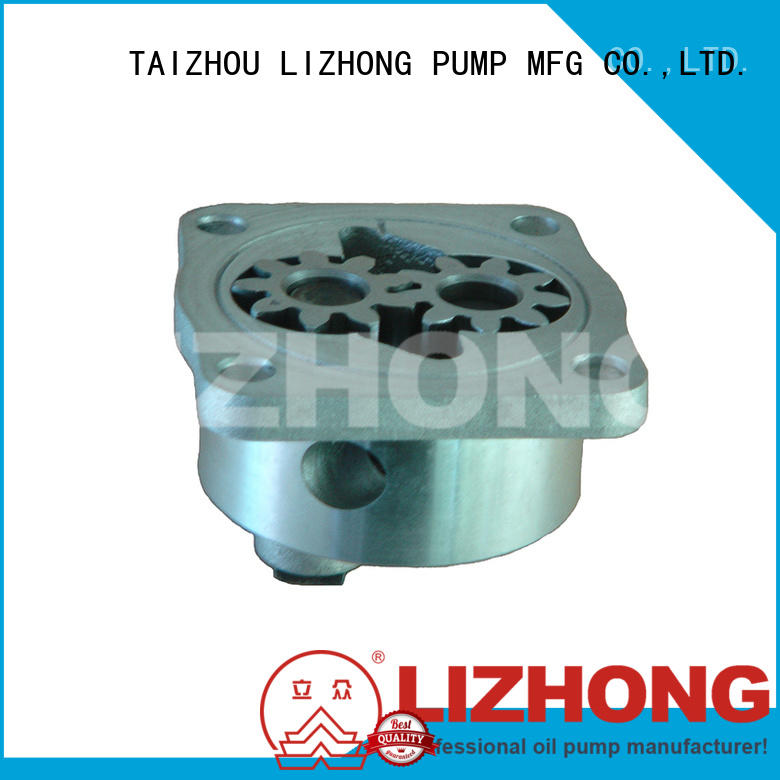 LIZHONG engine oil pump types supplier for trunk