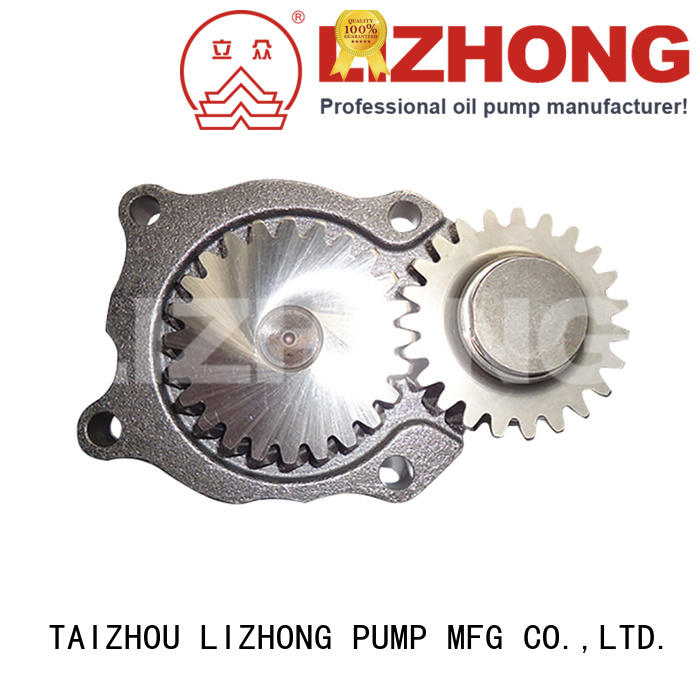LIZHONG reliable engine oil pump types directly sale for off-road vehicle