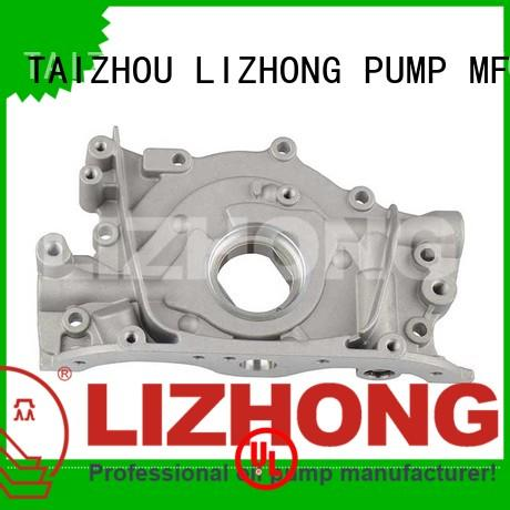LIZHONG good quality gear type oil pump supplier for vehicle