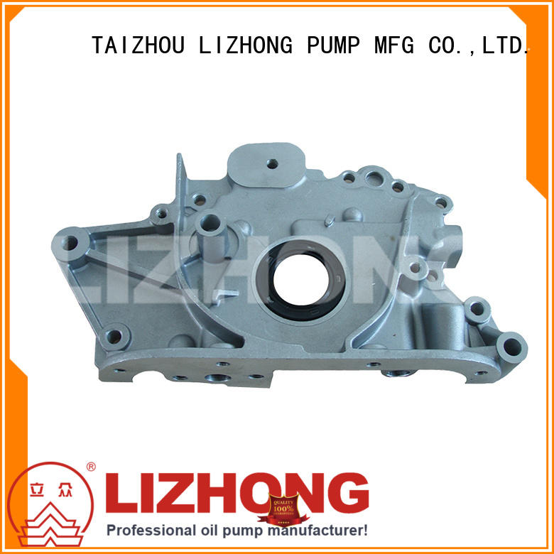 LIZHONG long lasting gear type oil pump supplier for vehicle