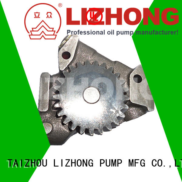 LIZHONG high quality engine oil pump directly sale for trunk