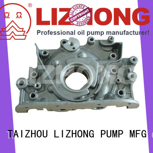 LIZHONG long lasting gear type oil pump at discount for vehicle